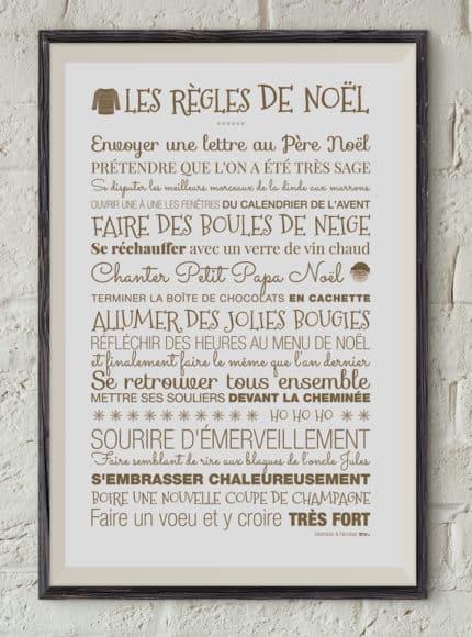 Trentotto Les Règles de Noël